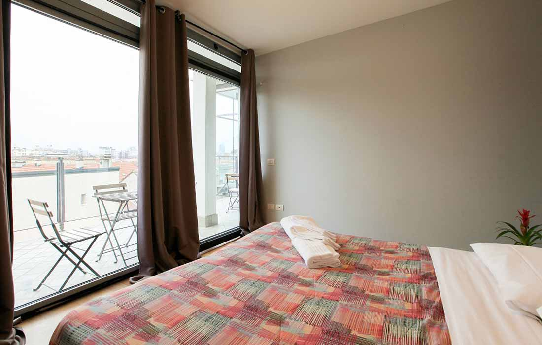 Triple room (City view)